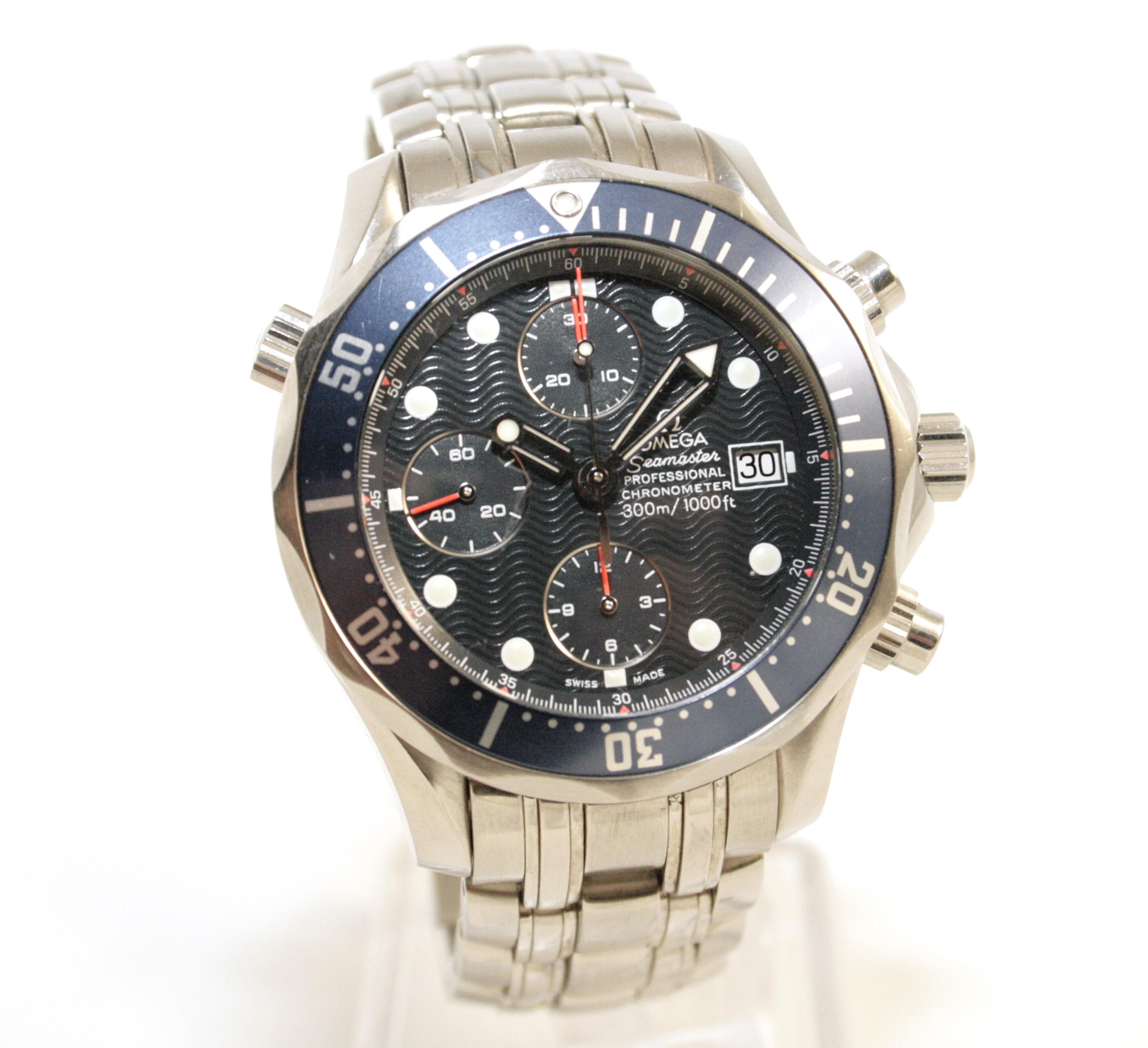 bd7b53e85e2ce Omega Seamaster Professional James Bond Chrono Diver 178.0514 ...